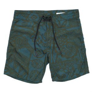 Outerknown Board Shorts  Size 31 Tribal Pattern
